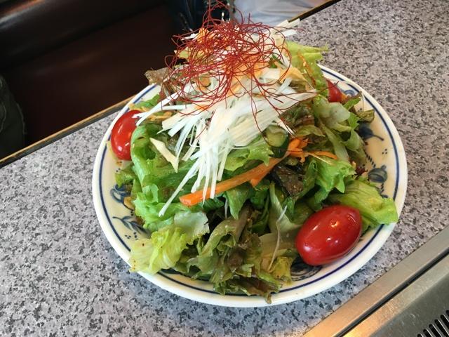 金井亭サラダ