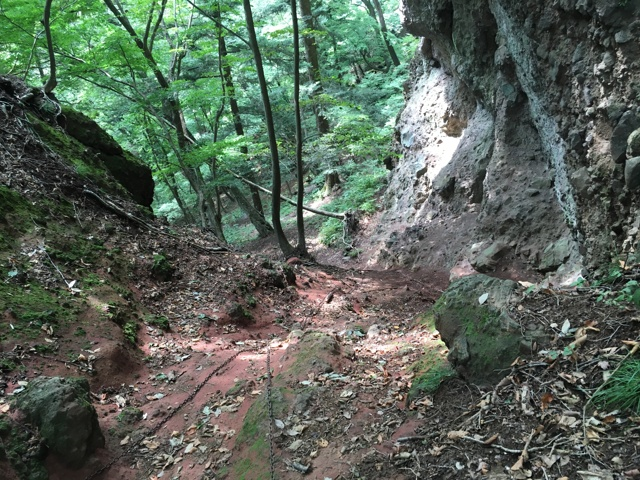 赤岩通り合流地点